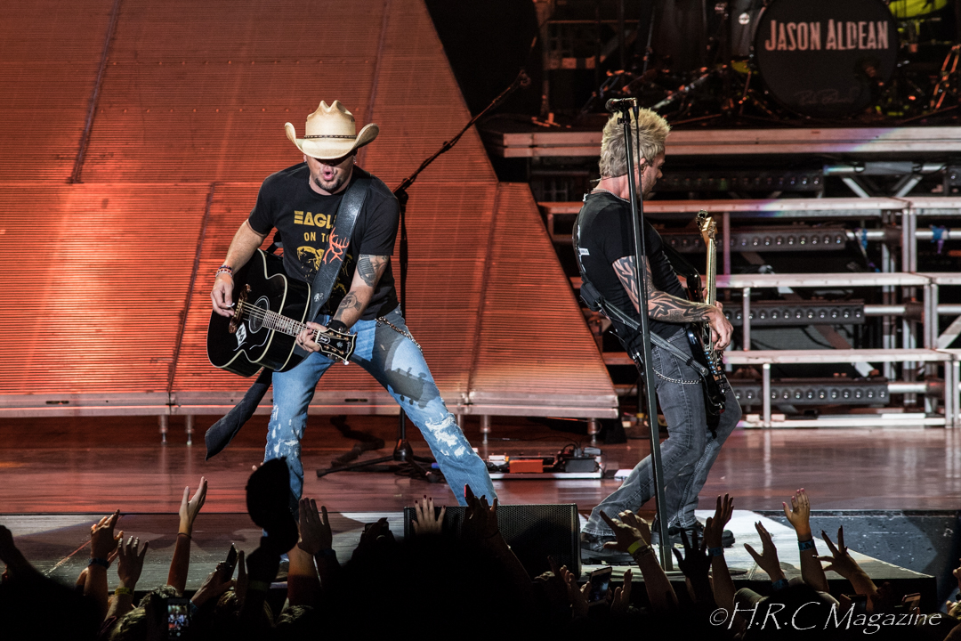Jason Aldean at Budweiser Stage 15 2018 136