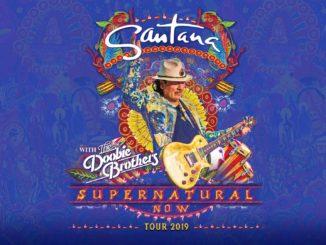 Carlos Santana Retuens to Budweiser Stage August 6,2019
